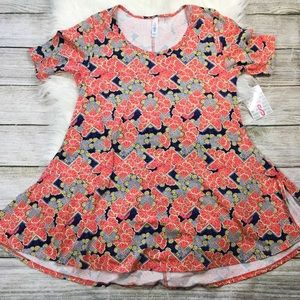 LuLaRoe Perfect T Floral NWT
